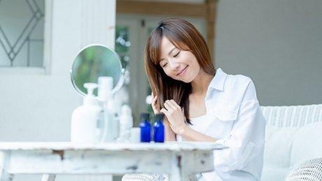 髪の潤いを復活させる5つの方法!パサつく髪がしっとり潤い髪に大変身!